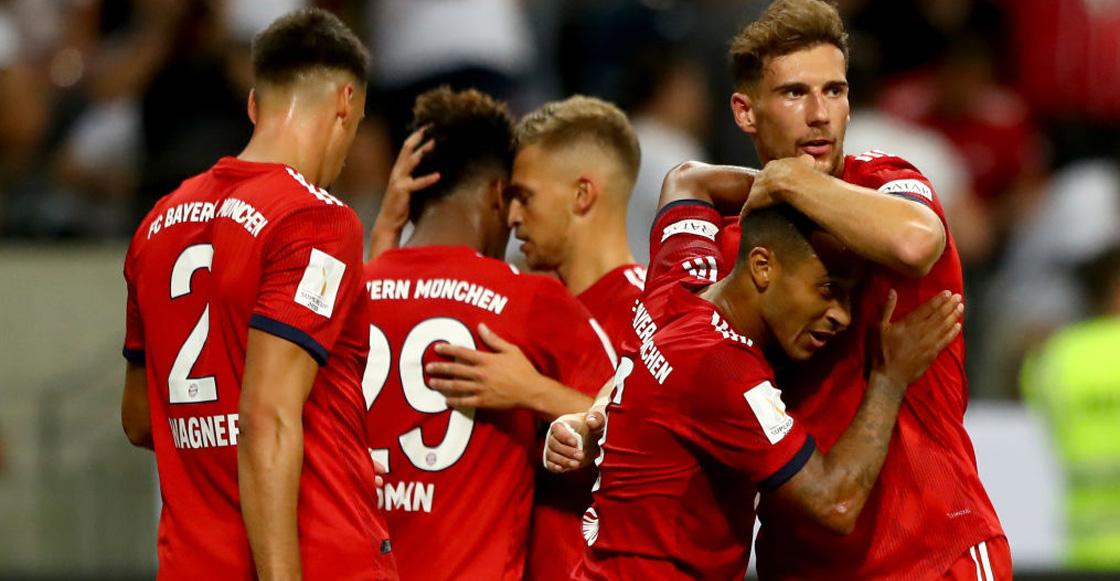 Fabián y Salcedo sufren goleada ante Bayern en Supercopa alemana