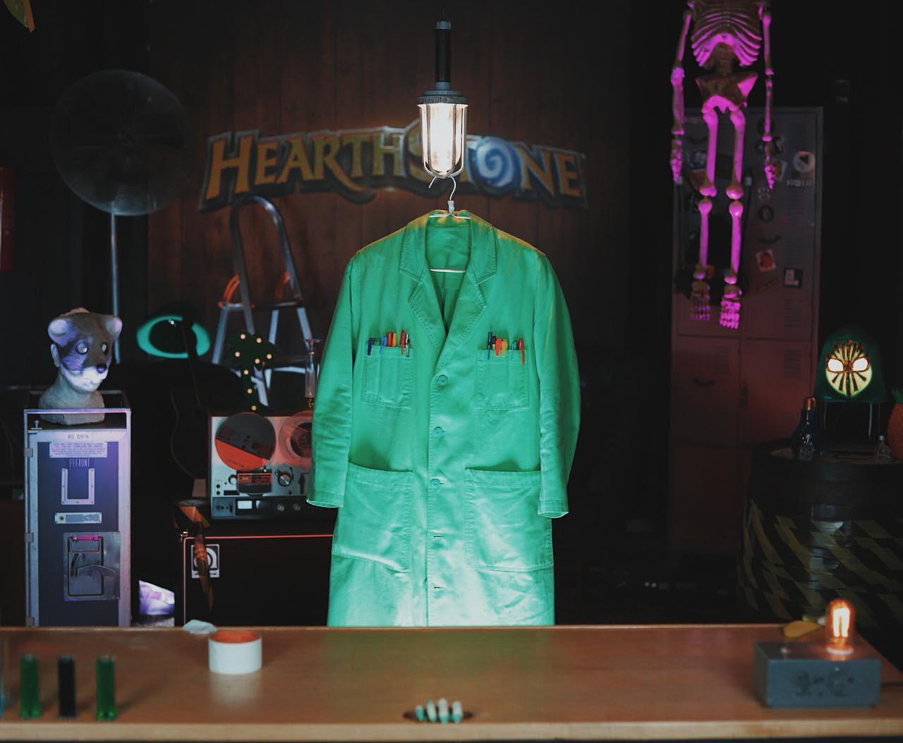 Beakman en Hearthstone