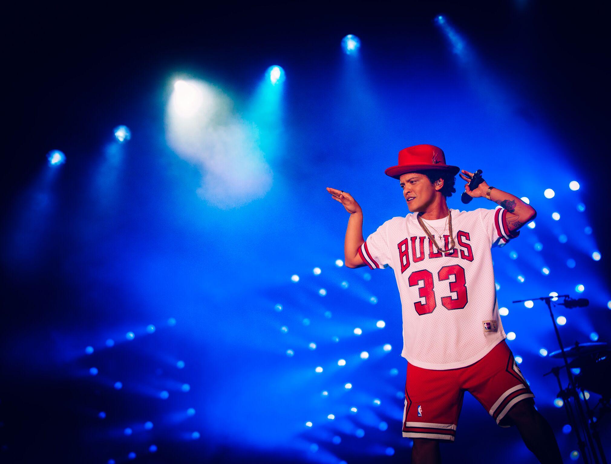 Bruno Mars en Lollapalooza