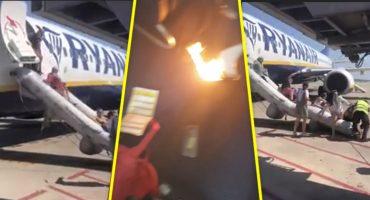 Vaya sustito: Explota celular en un avión y pasajeros evacuan de emergencia