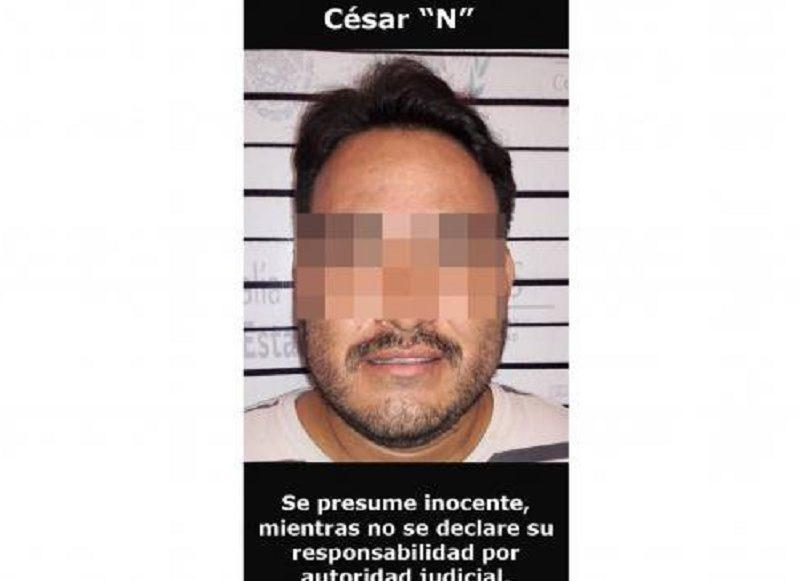 """César """"N"""", El Bótox, uno de los operadores de """"Los Viagras"""""""