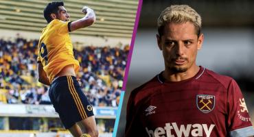 Premier League: ¿Cuándo se enfrentan Chicharito Hernández y Raúl Jiménez?