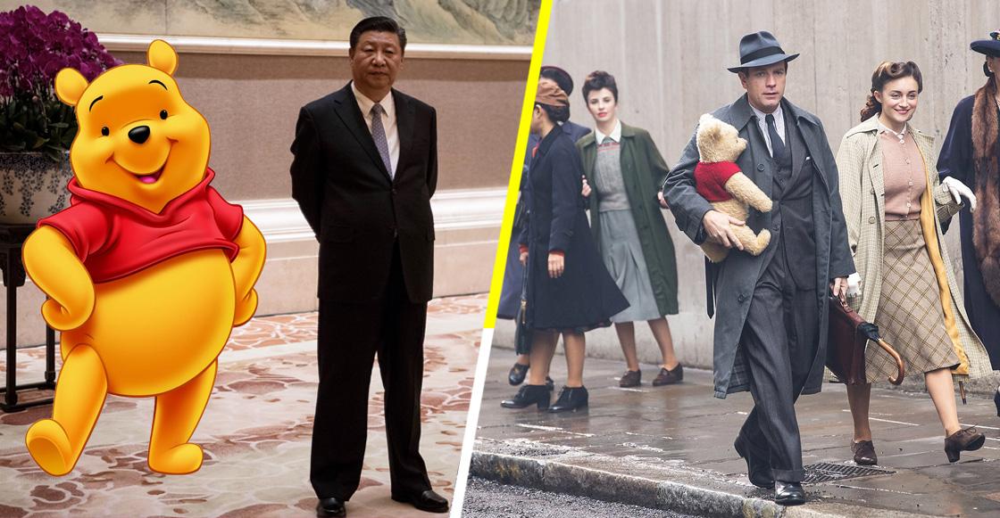 ¿Adiós, taquilla? China prohíbe a 'Christopher Robin' y Winnie Pooh en sus cines
