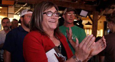 Christine Hallquist, la primera candidata transgénero a una gubernatura en EU