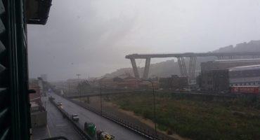 Génova: colapsa puente en autopista, hasta el momento hay 22 muertos