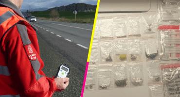 ¡Qué fiestón! Conductor español sale positivo por TODAS las drogas