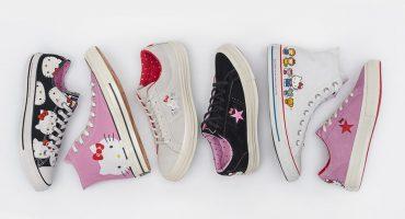 Checa los nuevos e increíbles Converse de Hello Kitty
