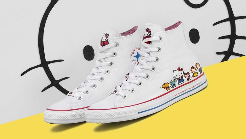 Los nuevos Converse de Hello Kitty