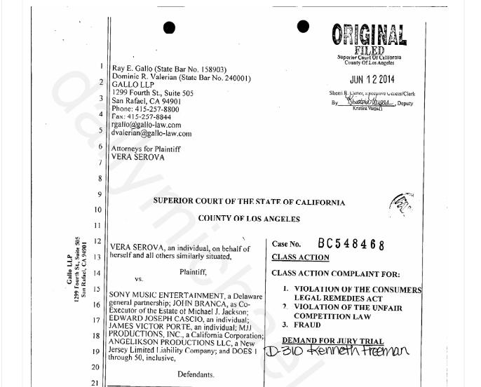 Denuncia contra Sony Music