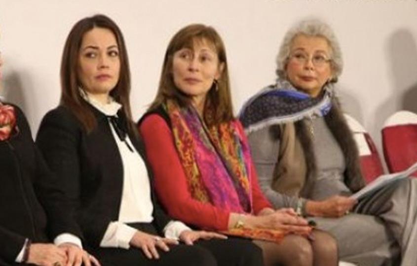 Diana Álvarez, Tatiana Clouthier y Olga Sánchez