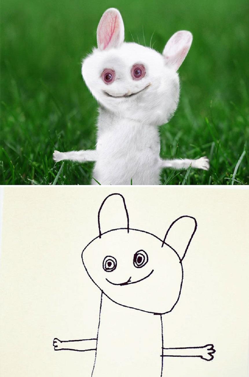 Dibujo de un conejo