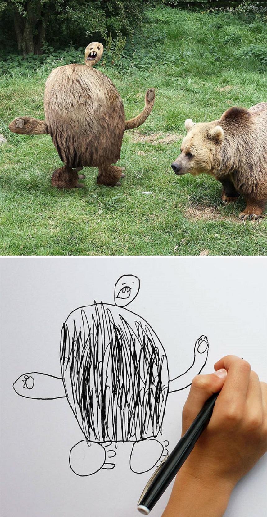 Dibujo de un oso