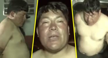 No pasa 'nomás' en México: Diputado boliviano ebrio, se desnuda y termina arrestado