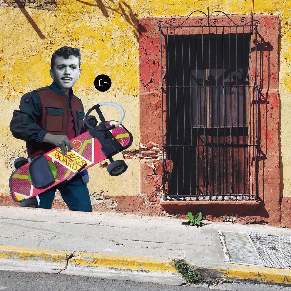 Estos murales en Oaxaca mezclan a iconos mexicanos y de Hollywood