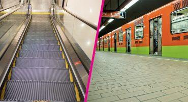 197 escaleras eléctricas del metro ya tienen más de 25 años y urge cambiarlas