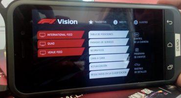 ¡Experiencia del GP de México será impulsada por el dispositivo F1 visión!