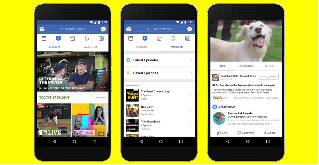 Ahora sí es internacional: Ya hay Facebook Watch para todos