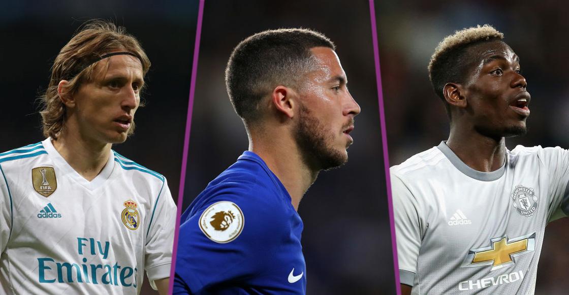 Fichajes y rumores: ¿Chelsea amarra a Hazard? ¿Pogba se aleja de Barcelona? ¿Modric se queda?