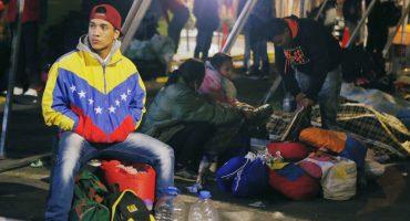 Las fotos que retratan la angustia de los Venezolanos en la frontera con Colombia