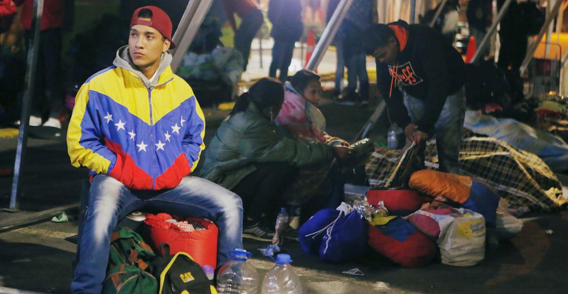 Resultado de imagen para migrantes venezolanos en colombia