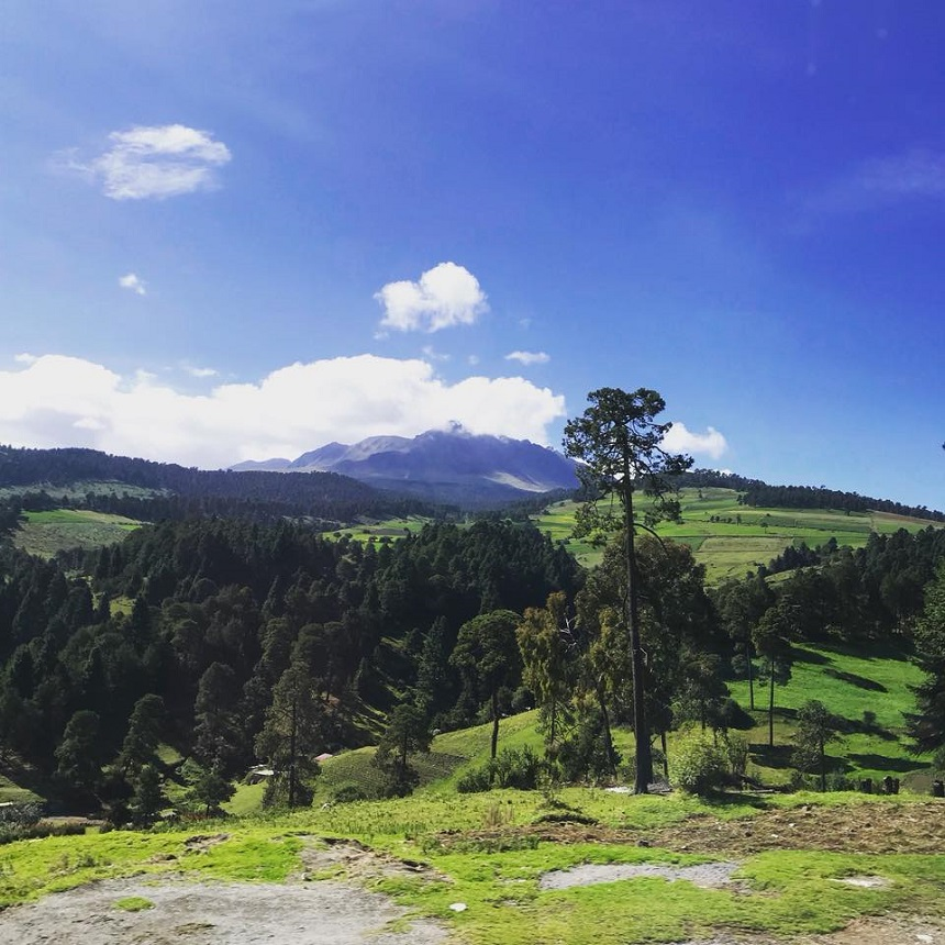 Fotos de lectores de Sopitas - Cielo azul y paisaje
