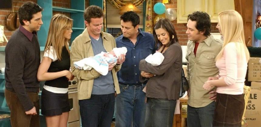 El ritual de los actores de Friends antes de grabar cada capítulo