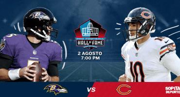 Chicago y Baltimore inauguran la pretemporada de la NFL