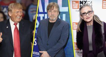 Mark Hamill: Y si quitamos la estrella de Trump y ponemos una de... Carrie Fisher