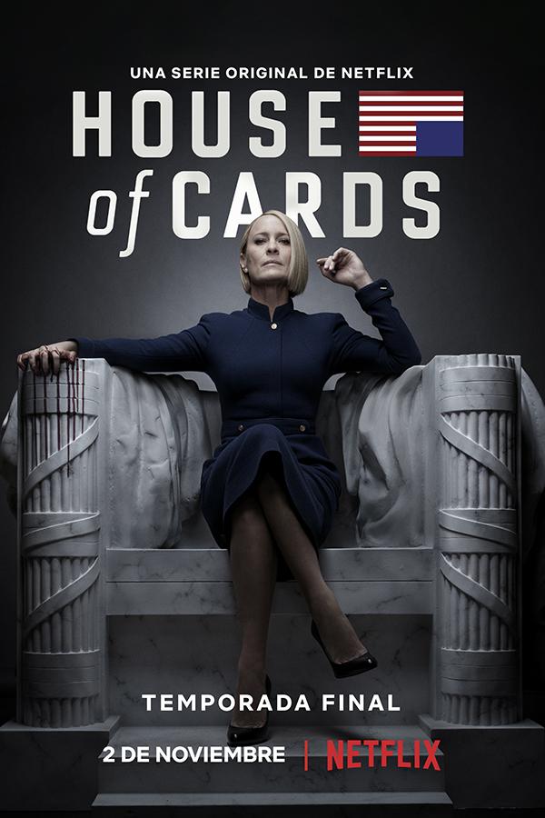 Ya hay fecha de estreno para la última temporada de 'House of Cards' de Netflix