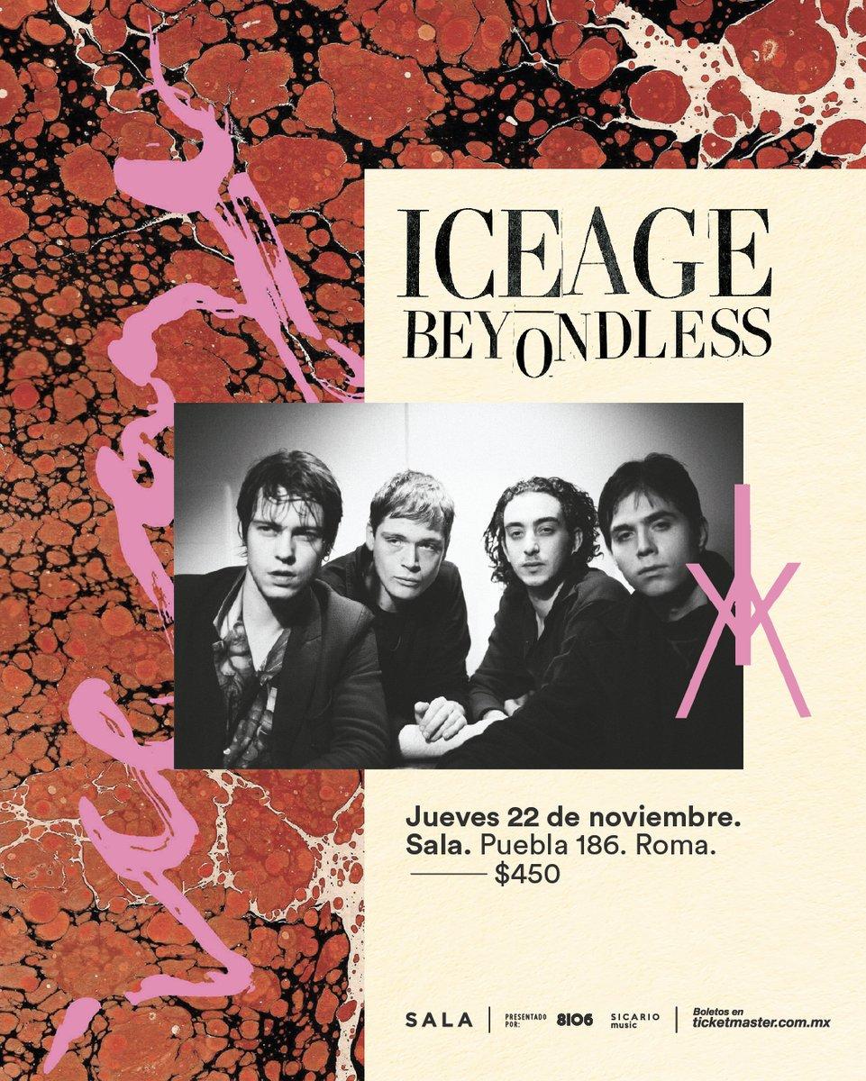 Post-punk is not dead! ¡Iceage regresa a México en noviembre!