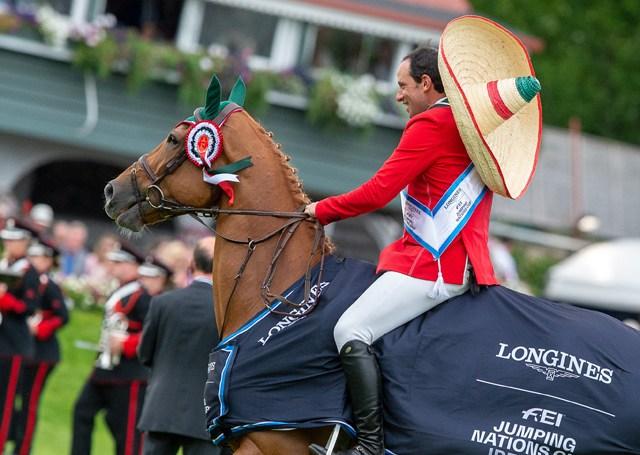 México gana por primera vez trofeo Aga Khan 2018 Horse Show