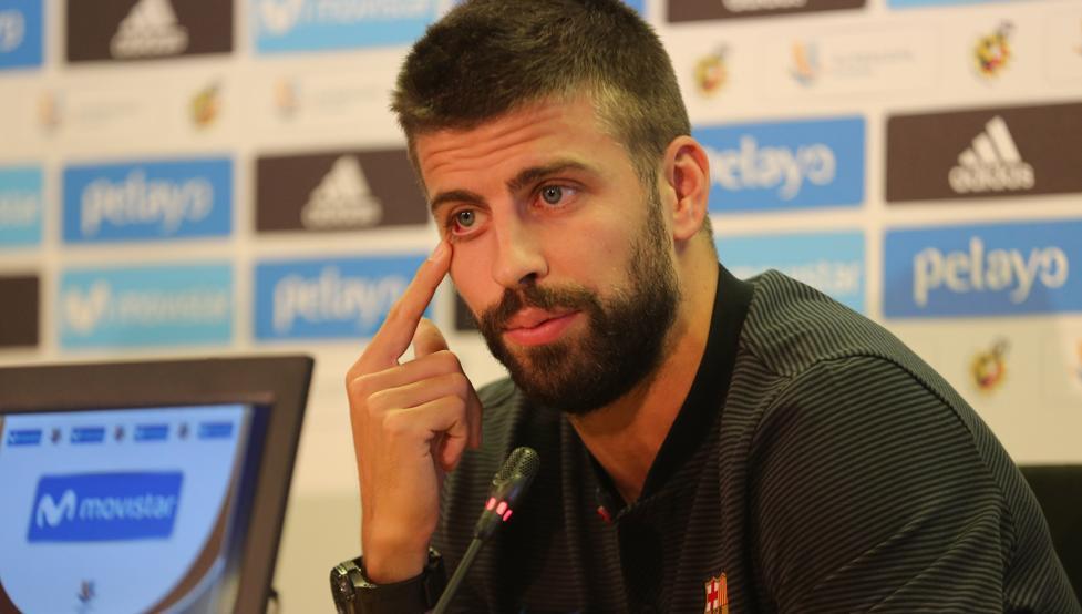 Gerard Pique reafirma que no volverá más con la Selección de España