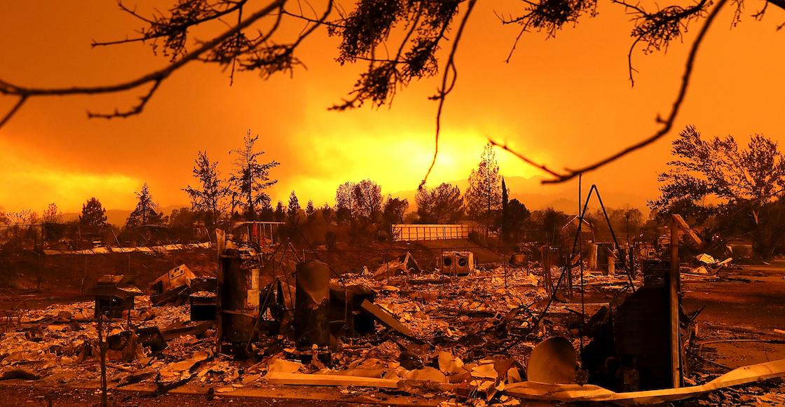 Gobierno declara desastre mayor por incendio en California