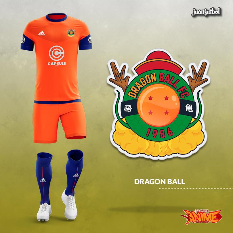 Estos increíbles uniformes de futbol son  ¿basados en anime  ¡Chécalos! 9669164e1e50e