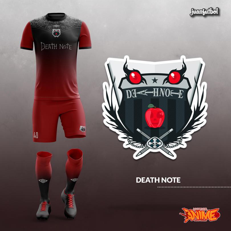 Estos increíbles uniformes de futbol son… ¿basados en anime? ¡Chécalos!