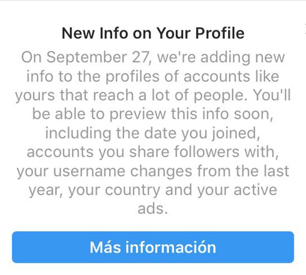 Información que cura: Así puedes verificar tu cuenta de Instagram