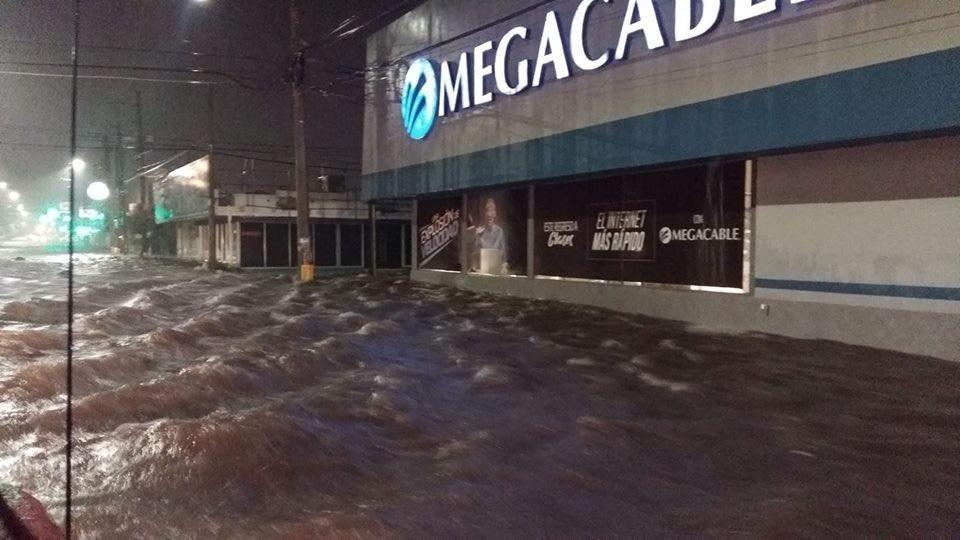 Inundación en Hermosillo, Sonora