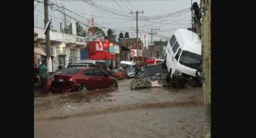 Como en cada temporada de lluvias, Valle de México registra severas inundaciones