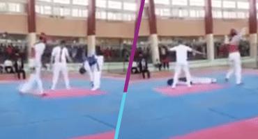 Joven de 16 años muere en pleno combate de taekwondo en Cuba