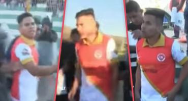 Futbolista de Perú es detenido en pleno partido por falsificar su identidad