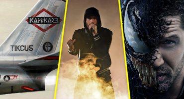 'Kamikaze': Eminem lanzó un disco sorpresa que trae un track para 'Venom'