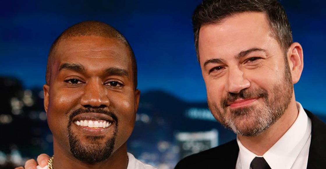 Kanye West y su silencio incómodo en el programa de Jimmy Kimmel