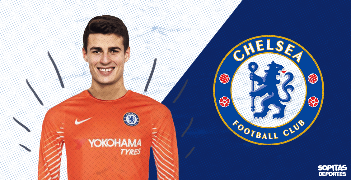 Chelsea confirma a Kepa como su nuevo portero