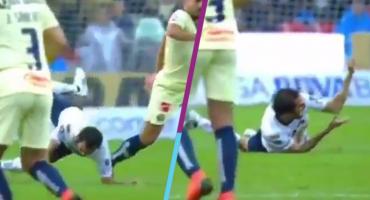 ¿Qué le pasó a Alejandro Arribas en el juego contra América?
