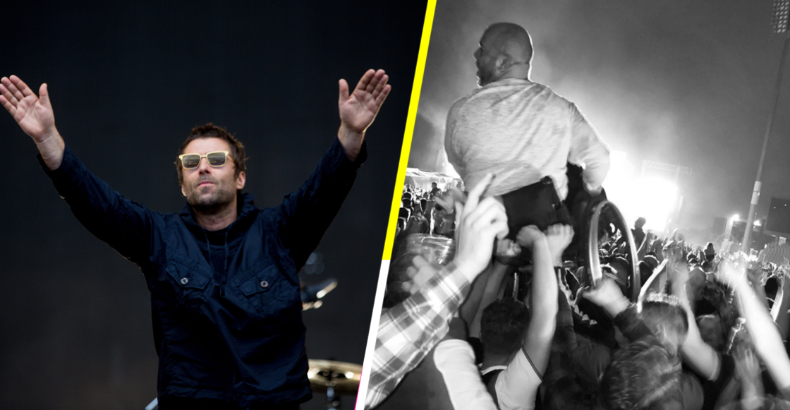 Lagrimita mil: Levantan a joven en silla de ruedas mientras Liam cantaba 'Wonderwall'