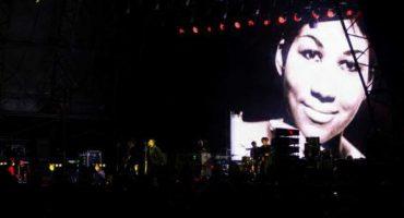 Mira el tributo de Liam Gallagher a Aretha Franklin en el Rize Festival