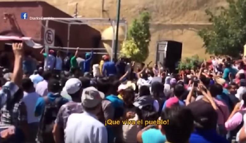 Linchamiento en Puebla