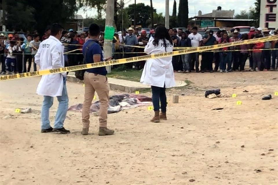 Linchamiento en Santa Ana Ahuehuepa
