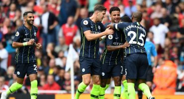 Manchester City doblega al Arsenal en cierre de la J1 de la Premier League