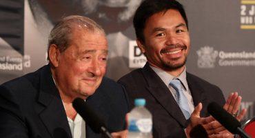 Manny Pacquiao se reunió con Bob Arum y genera intriga por posible contrato